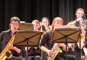 The Didsbury High School Odds Jazz Ensemble at the Heritage Music Festival in Seattle Washington.